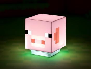 Minecraft Lampe Schwein