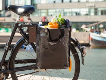 Bikezac Fahrradtasche Schwarz