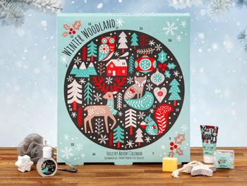 Winter Woodland Spa-Adventskalender
