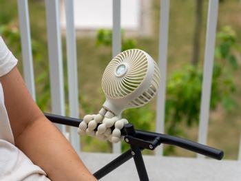 Vooni Ventilator Mit Biegbaren Beinen