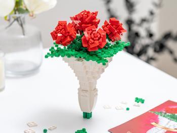 Spralla Blumenstrauß 3D-Bausatz