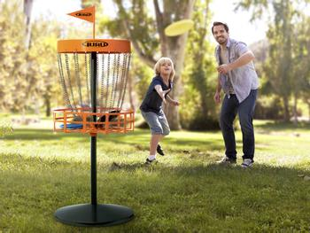 Mini Disc Golf Set