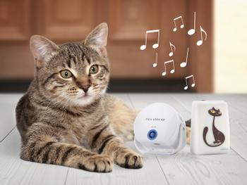 Cat DoorBell-Katzenklingel