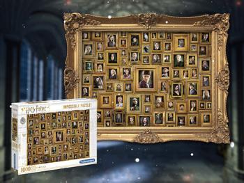 Clementoni Harry Potter Impossible Puzzle 1000 Teile