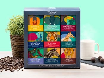 Whittard Coffees of the World Geschenkbox
