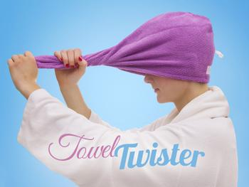 Handtuch-Twister