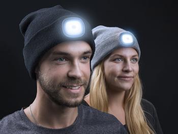 Spralla LED Beanie Mütze