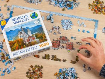 Das Kleinste 1000-Teile-Puzzle Der Welt