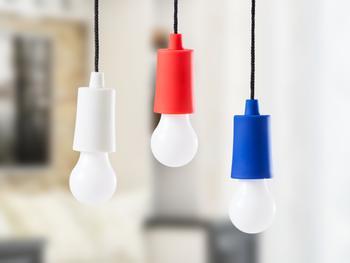 LED-Lampe batteriebetrieben