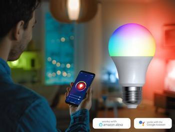 Denver Smart RGB LED-Lampe Wi-Fi