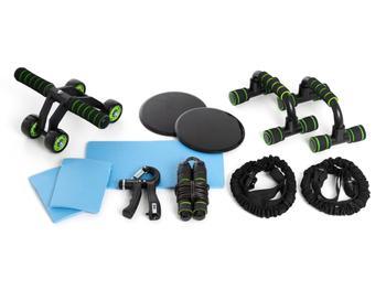 Zenkuru® Heimsportgeräte-Set 10 Teile