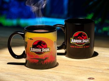 Jurassic Park Tasse mit Farbwechselfunktion