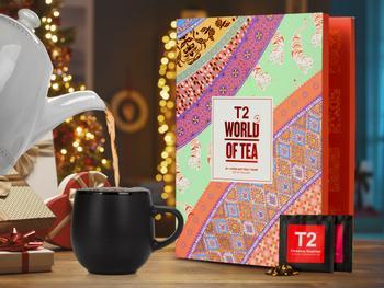 T2 World of Tea: Adventskalender Mit Losem Tee