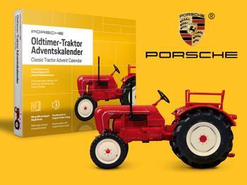 Porsche Adventskalender Oldtimer-Traktor