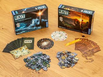 EXIT: Puzzle Escape Room-Spiel