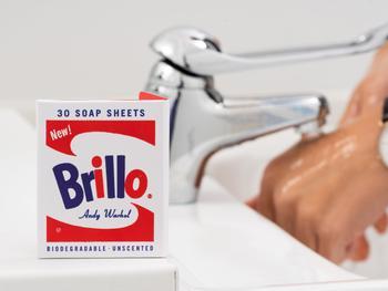 Andy Warhol Brillo Seifenbögen