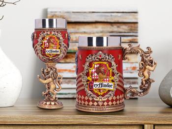 Harry Potter Bierseidel und Weinglas - Gryffindor