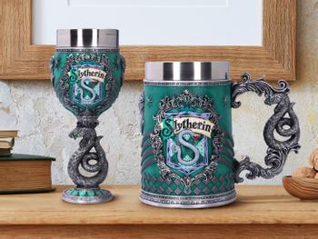Harry Potter Bierseidel und Weinglas - Slytherin