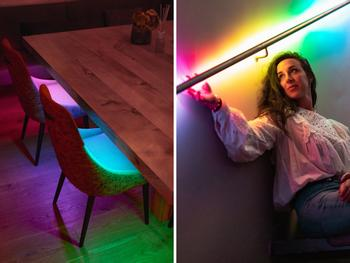Twinkly Line App-gesteuerte LED-Lichtleiste