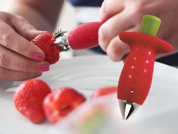 Erdbeer Entstieler