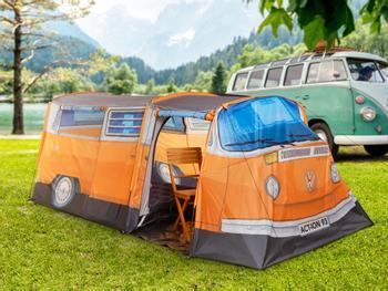 VW-Bus Zelt 3 Personen orange